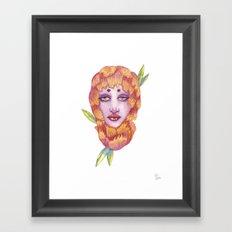 Peonies 2/2 Framed Art Print