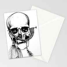Skull of Time Stationery Cards