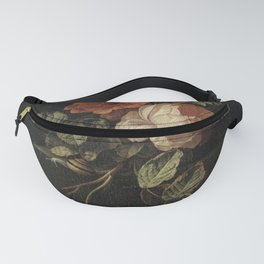 Botanical Rose And Snail Fanny Pack