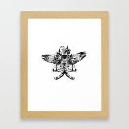 Deathshead - Belladonna Nightshade Framed Art Print