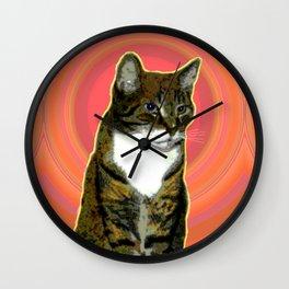 Pablo Cat Wall Clock