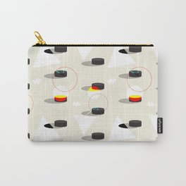Pucks & Geometries #society6 #hockey #sport Carry-All Pouch