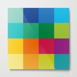 Artist Color Palette Metal Print