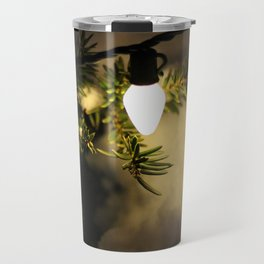 Light and Snow Travel Mug