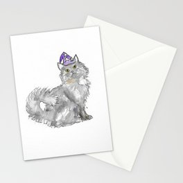 Cat Wizard Stationery Cards