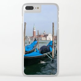 Gondola in  Venice Italy Clear iPhone Case
