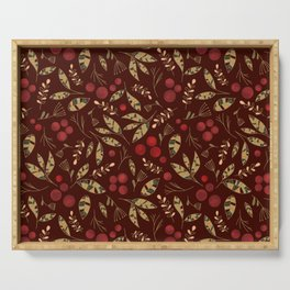 Red Currants Serving Tray