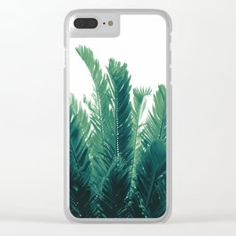 Tropical Leaves Dream #2 #tropical #decor #art #society6 Clear iPhone Case