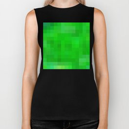 Re-Created Colored Squares No. 52 Biker Tank