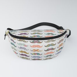 Mustache Mania Fanny Pack