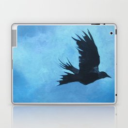 As The Crow Flys Laptop & iPad Skin