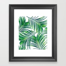 Palm Paradise #society6 #decor #buyart Framed Art Print