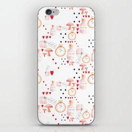 Alice in Wonderland - White Dream iPhone Skin
