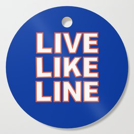 LIVE LIKE LINE Volleyball Cutting Board