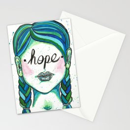 "Words Within: ""Hope"" Stationery Cards"