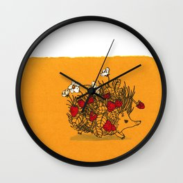 Everything Grows Wall Clock