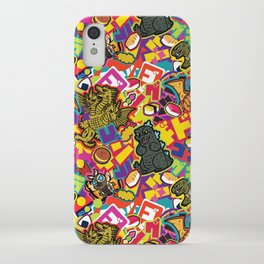 Kaiju Graffiti iPhone Case