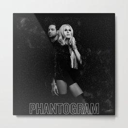 Phantogram Metal Print