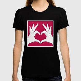 Love Hands Red T-shirt