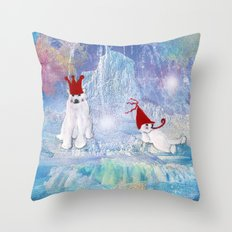 The Ice Party Throw Pillow