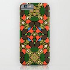 Retro Orange iPhone 6s Slim Case