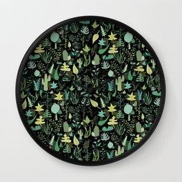 Random Nature Wall Clock