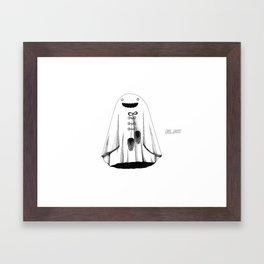 Cape Ghost Framed Art Print