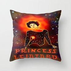 Princess Leiatard – 045 Throw Pillow
