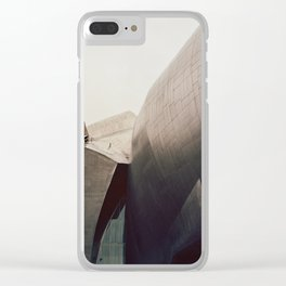 A Study in Gehry Clear iPhone Case