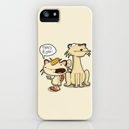 Pokémon - Number 52 & 53 iPhone Case