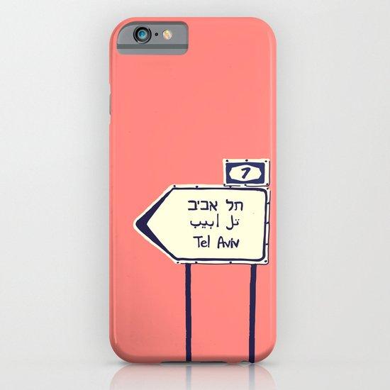 Tel Aviv This way iPhone & iPod Case