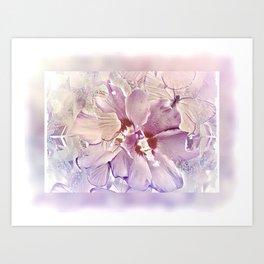 Delicate Floral Art Print