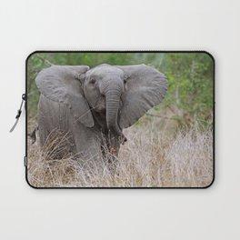 Young elephant - Africa wildlife Laptop Sleeve