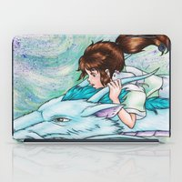 spirited away iPad Cases featuring Spirited Away by Kimberly Castello