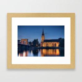 All Saints, Marlow Framed Art Print