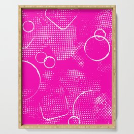 Texture #26 in Hot Pink Serving Tray