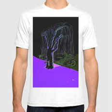 Next nature services White MEDIUM Mens Fitted Tee