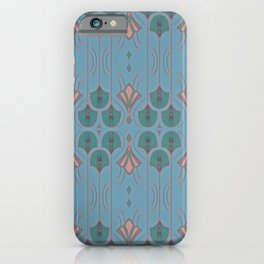Lily Lake Blue-Gray iPhone Case