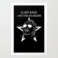 GARY KING AND THE ENABLERS - The World's End Art Print