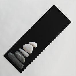 balance pebble art Yoga Mat