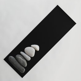balance pebble art Yoga Mat