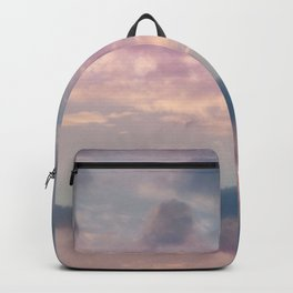 Purple Blue Clouds #1 #decor #art #society6 Backpack