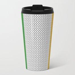 Flag of Ireland - knitted Travel Mug