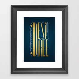 Desiree Framed Art Print