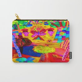Colorful Feast | Kids Painting Carry-All Pouch