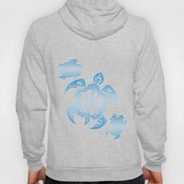 Tribal Turtle Beach Summer Vacation Diver Surfer Traveler Travel Gift Hoody