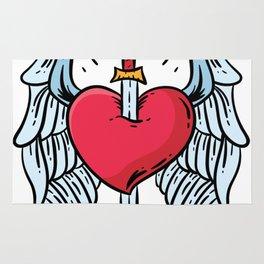 LOVE HURTS Rug