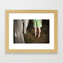 Out to Dry Framed Art Print