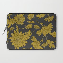 Hand drawn automnal flowers Laptop Sleeve