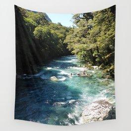 Lake Marian, New Zealand Wall Tapestry